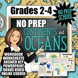 Teaching Kids About Continents and Oceans Free Online Course