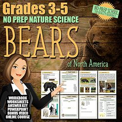 FREE BEARS Nature Study Course for Kids