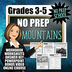 Teaching Kids About Mountains Free Course