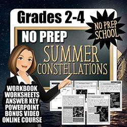 Teaching Kids About Summer Constellations